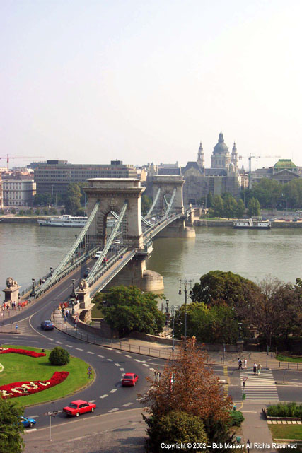 Chain Bridge - from Pest