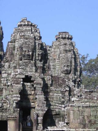 The Bayonne at Angkor Thom